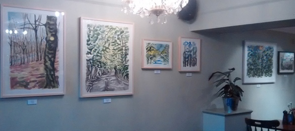 Paintings by Jo Dunn at The Mustard Pot, LS7