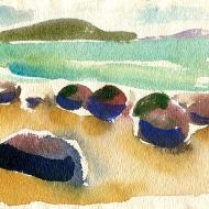 Moeraki boulders, 1995