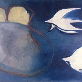 Birds and nest, 1989