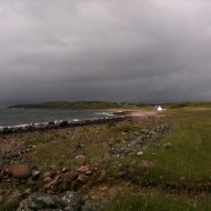 Beach at Opinan, 13th June