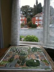 British suburban houses