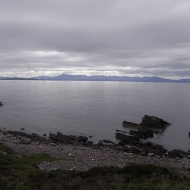 Skye from Red Point, Wester Ross