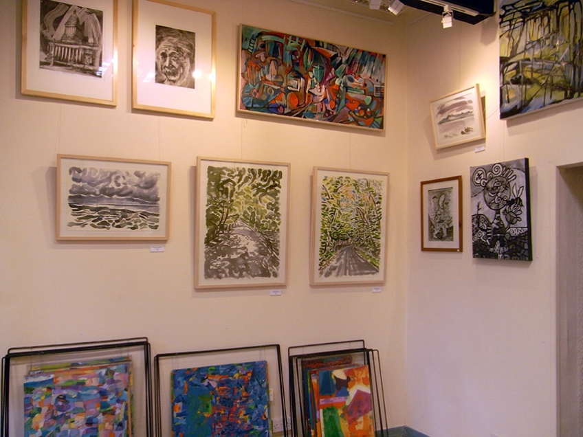 January 2014 - Bono Art Gallery - paintings by Shane Green, Jo Dunn, Moff Skellington, Roberto Bono