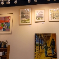 January 2014 - Bono Art Gallery - paintings by Roberton Bono, Jo Dunn, David Veron