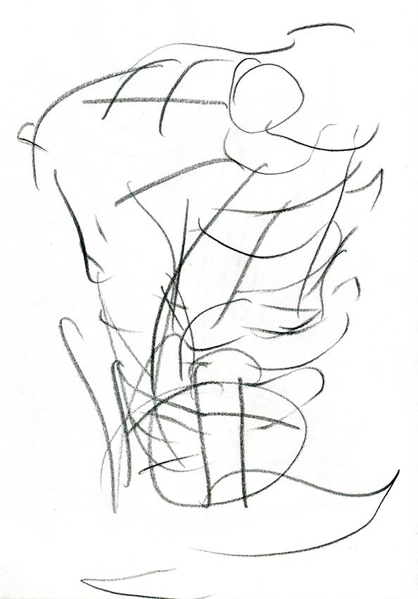eyes shut drawing