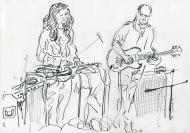 Ashtray Navigations, TorFest16 - drawing by Jo Dunn, 2016