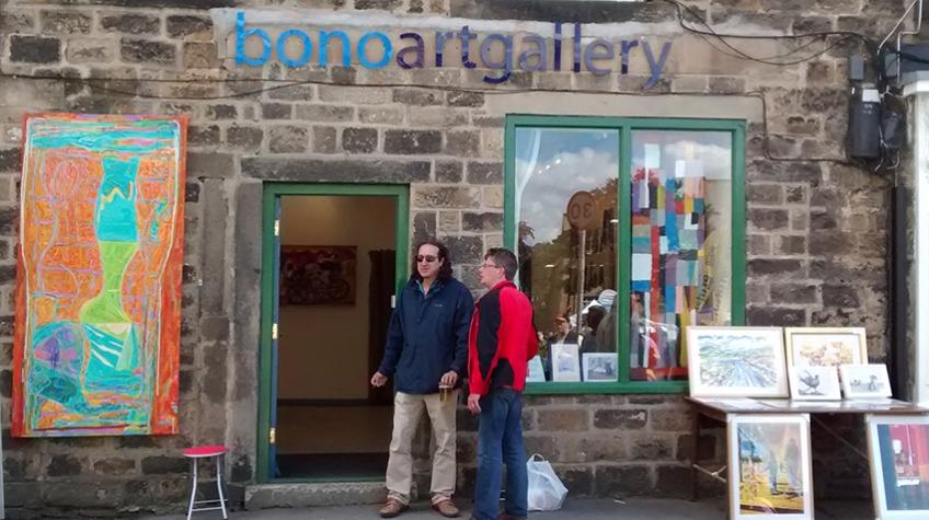 Bono Art Gallery, Tour de france day 2014