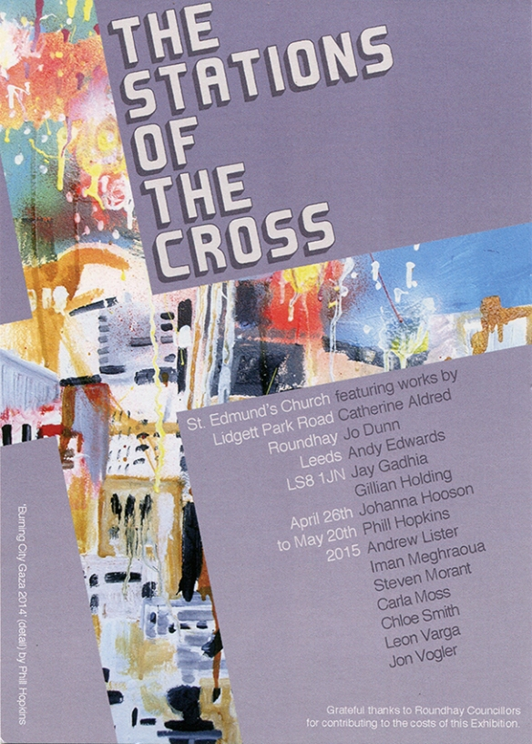 Stations of the Cross - art exhibition at St Edmund's Church LS8