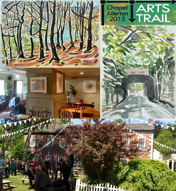 Chapel Allerton Arts Trail 2015 at The Mustard Pot