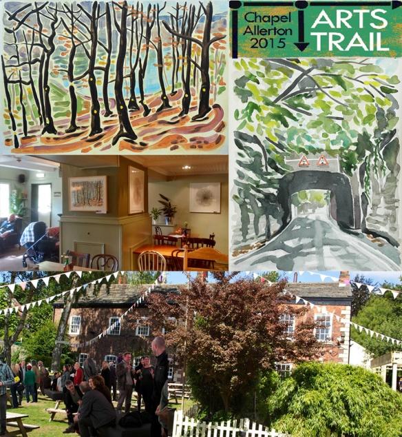 Chapel Allerton Arts Trail 2015 at The Mustard Pot