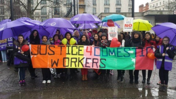 Justice 4 Domestic Workers, campaign group