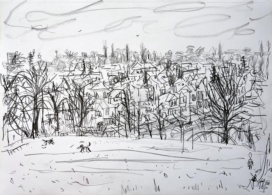 View from Pasture Lane, Chapel Allerton, Leeds