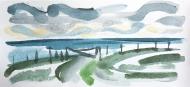 Isle of Tiree VII - watercolour by Jo Dunn