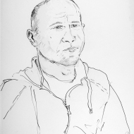 Paul _drawing by Jo Dunn 2018