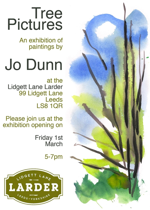 Tree Pictures - Exhibition of Paintings by Jo Dunn 2019