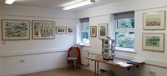 Jo Dunn Art Exhibition at Horticap near Harrogate HG3 1QL