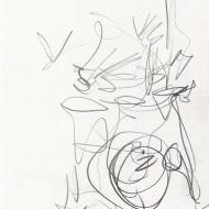 Karen Sharp Quartet XVII, 5-12-2019 - pencil drawing by Jo Dunn 2019