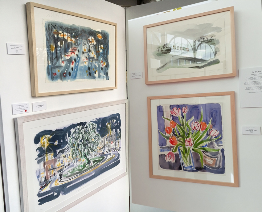 Jo Dunn - Paintings and Prints at the Mansion Conservatory, Roundhay Park Leeds