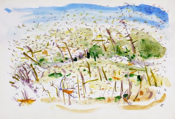 Jo Dunn - Plague of Locusts 1