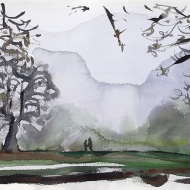Foggy November Afternoon, Chapel Allerton Park, Leeds, LS7