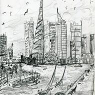 Birkenhead Docks East Float, 2045