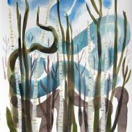 Blue Sky Woods III