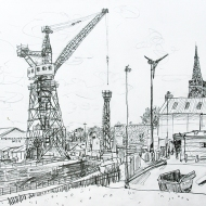 Cammell Laird and St Mary's Tower, Birkenhead